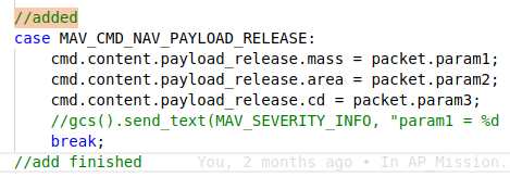 payload release