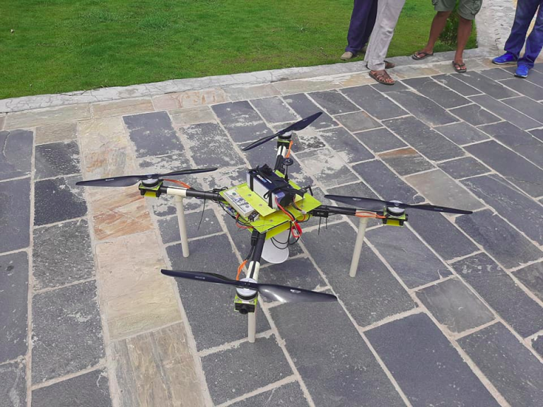 Quad drone services prokura innovations nepal