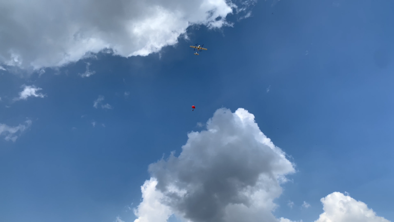 payload dropping from the drone