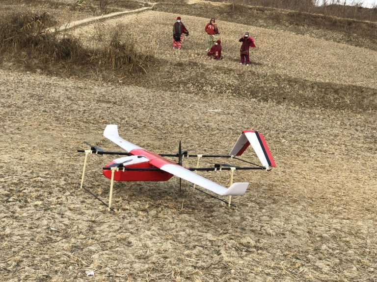 Drone (Gauthali) ready to fly