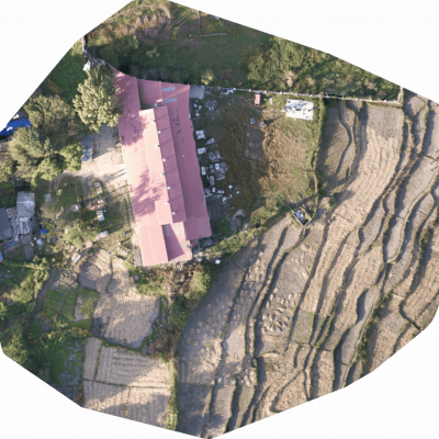 orthomosaic drone mapping of NIC